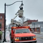 Sterberg Street Lights Installation 12-23-14