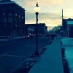 Sterberg Street Lights Installation 12-23-14 (John Hall Jr. photo)