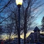 Sterberg Street Lights Installation 12-23-14 (Kendall McKernon photo)