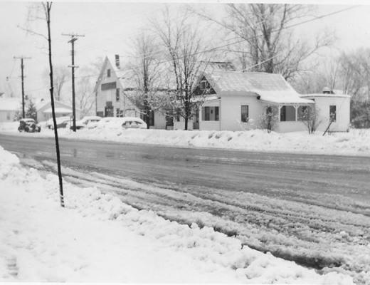 Feeder Street snow storm