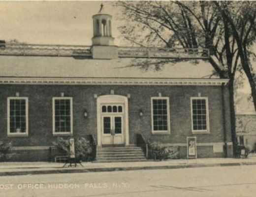 Post Office at Main and Pearl Streets